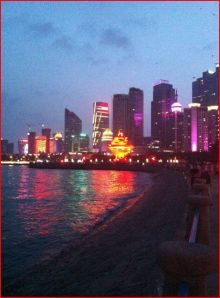 Qingdao at night