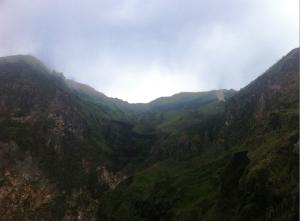 crater smoke