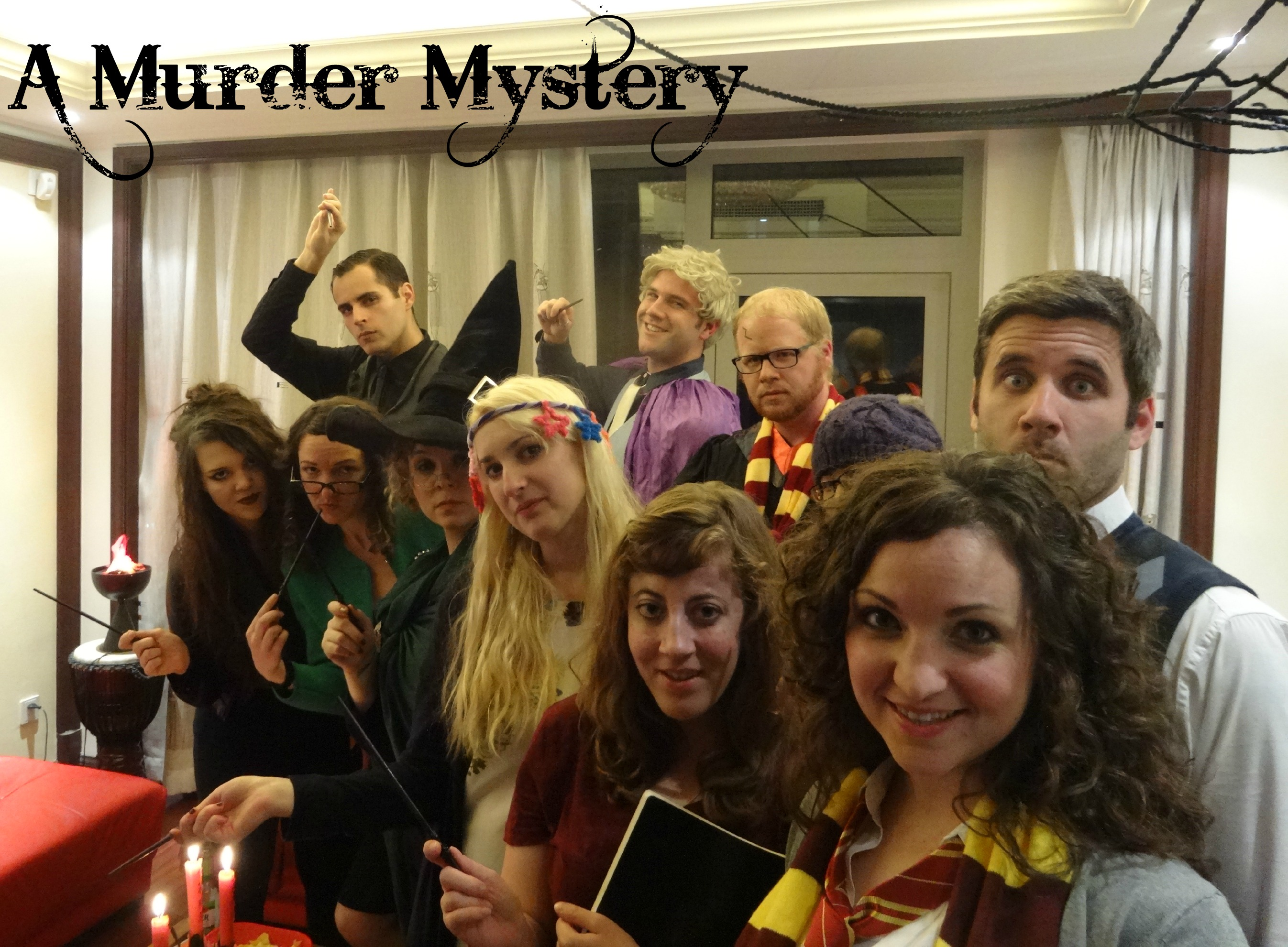 a halloween harry potter murder mystery | logsdon's big adventures!