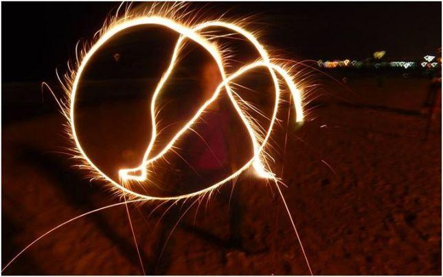 A- sparkler