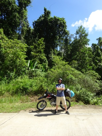 Riding all over Palawan
