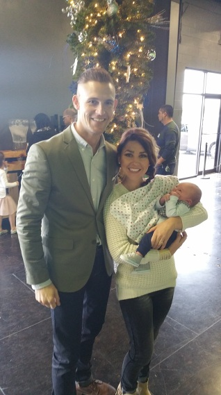 With Pastor Zak and Amber White