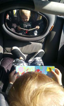 reading car
