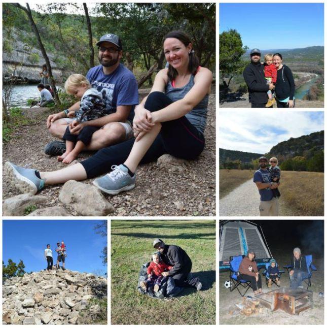 Garner state park collage